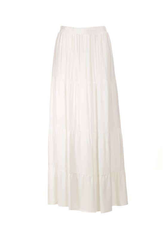 Biała Spódnica Amalthea