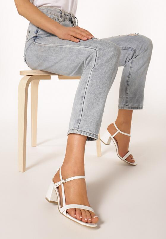 Białe Sandały Lephice