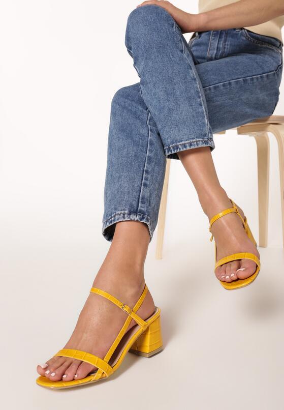 Żółte Sandały Lephice