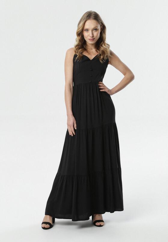Czarna Sukienka Daeimene