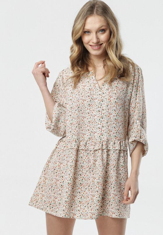 Kremowa Sukienka Marirene