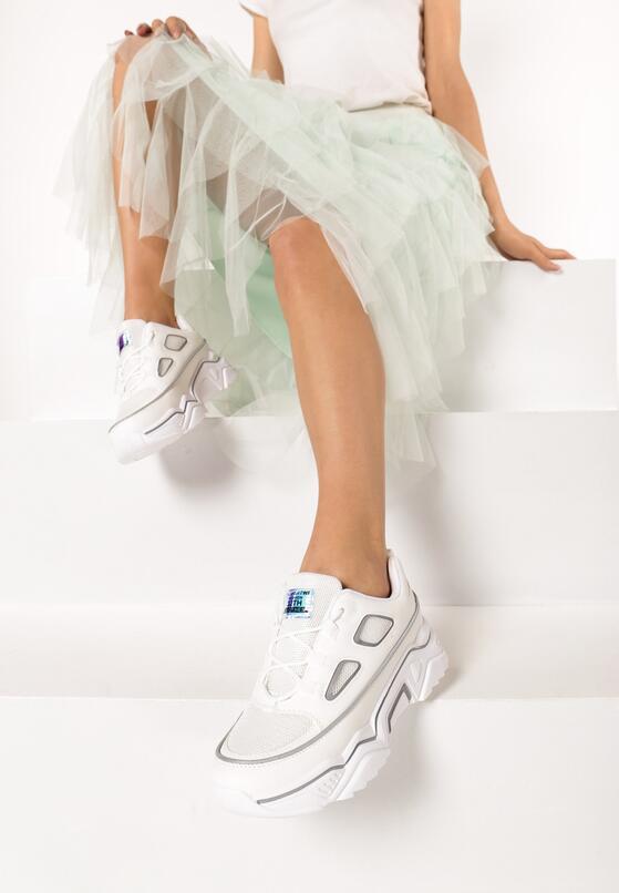 Białe Sneakersy Olaurae