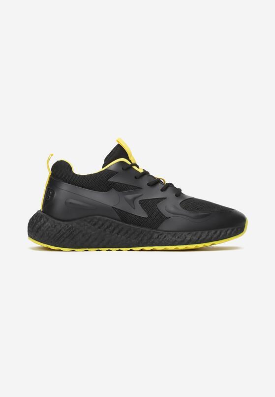 Czarno-Żółte Buty Sportowe Last Power