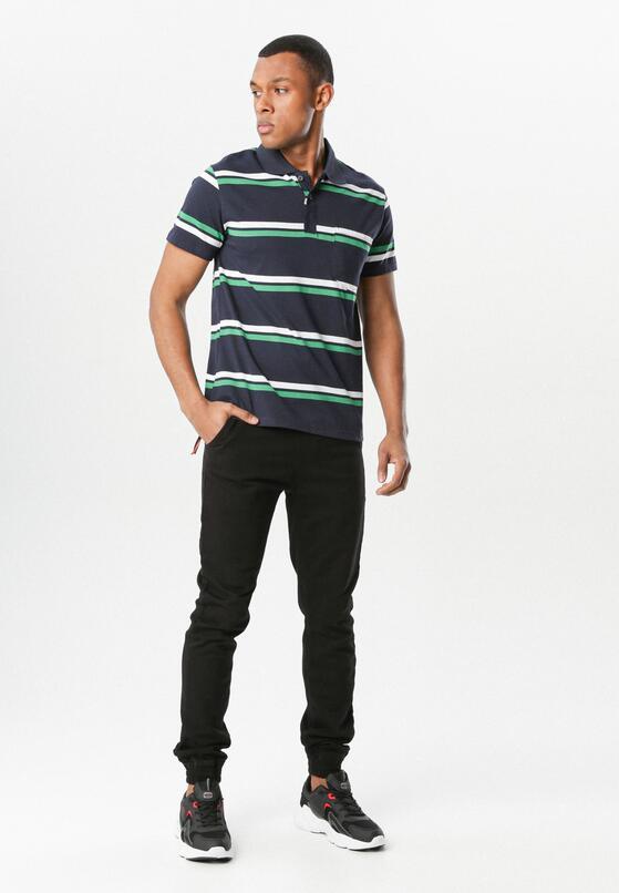 Granatowo-Zielona Koszulka Temperance