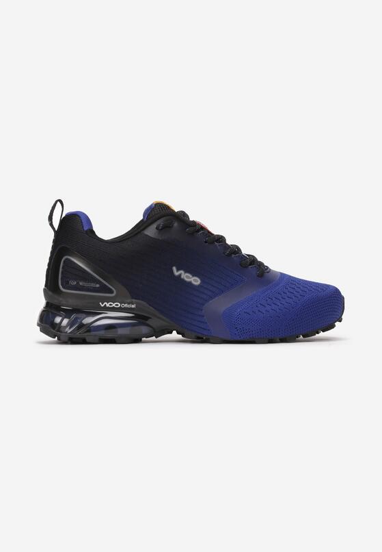 Niebiesko-Czarne Buty Sportowe Halams