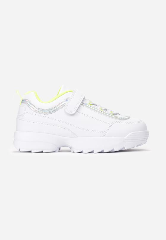 Biało-Zielone Buty Sportowe Glowwick