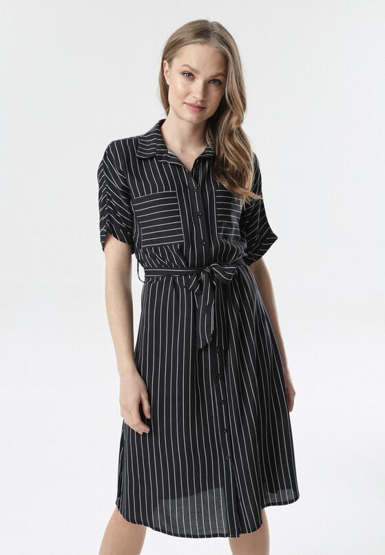 Czarna Sukienka Serelina