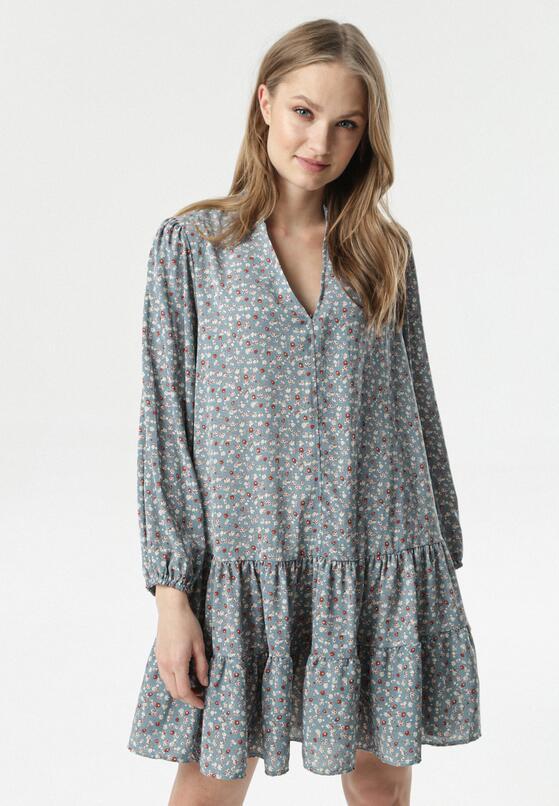Niebieska Sukienka Maryronei