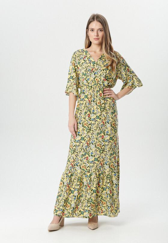 Żółta Sukienka Menidora