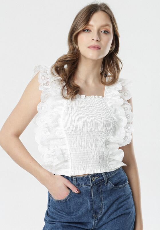 Biała Bluzka Kalina