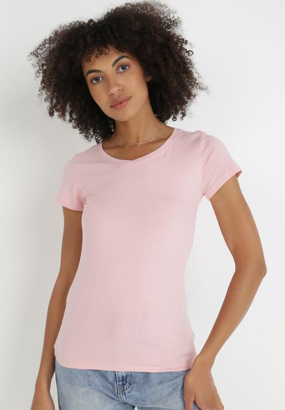 Jasnoróżowy T-shirt Nysalphia