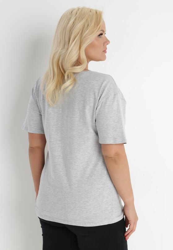 Jasnoszary T-shirt Genilin
