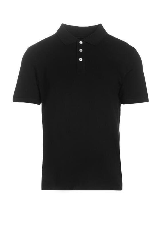 Czarna Koszulka Ashose