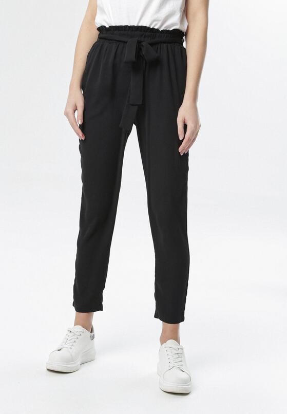 Czarne Spodnie Aelelia