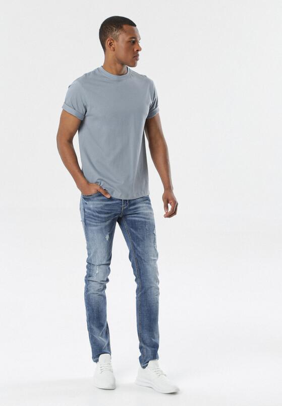 Jasnoniebieska Koszulka Pixyphe