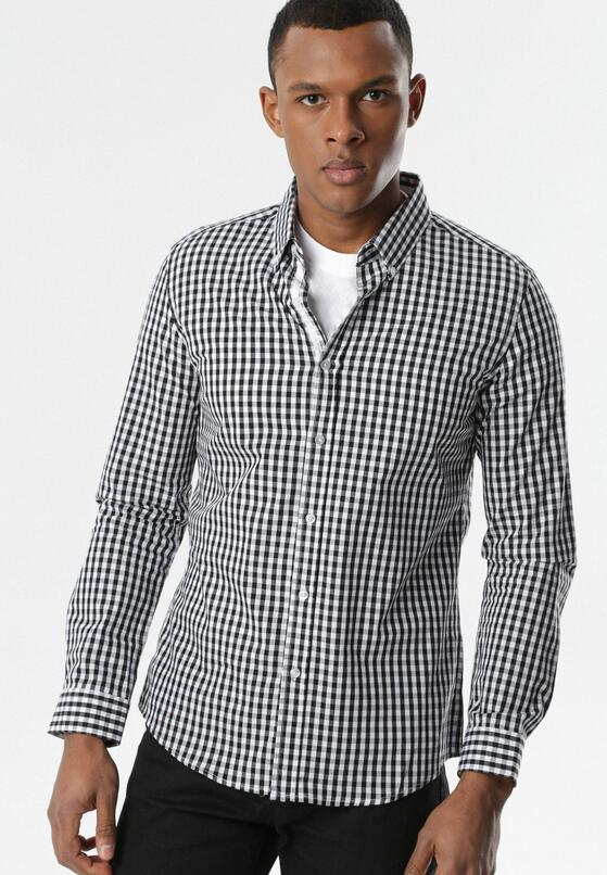 Czarno-Biała Koszula Aranaera