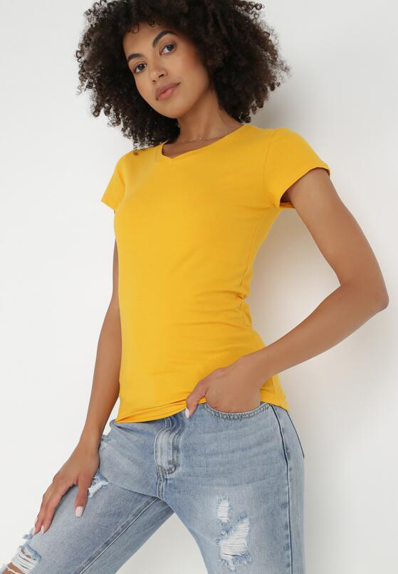Żółty T-shirt Nysalphia