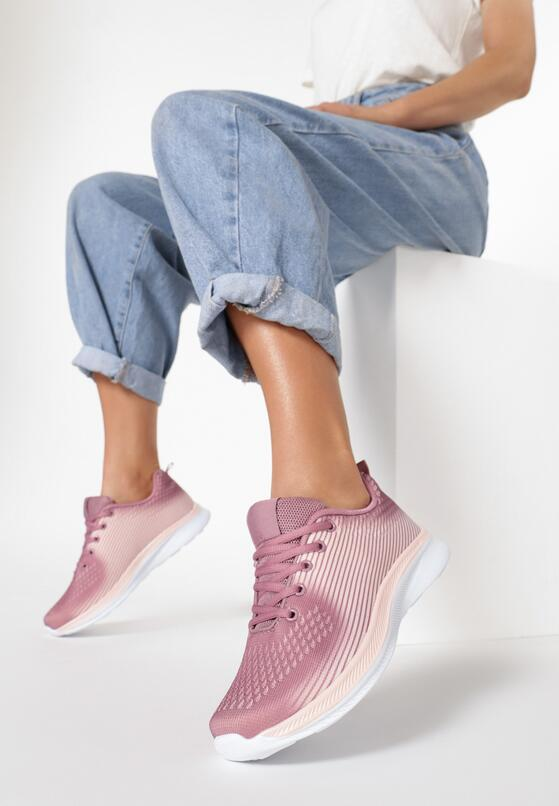 Fioletowe Buty Sportowe Adrilina