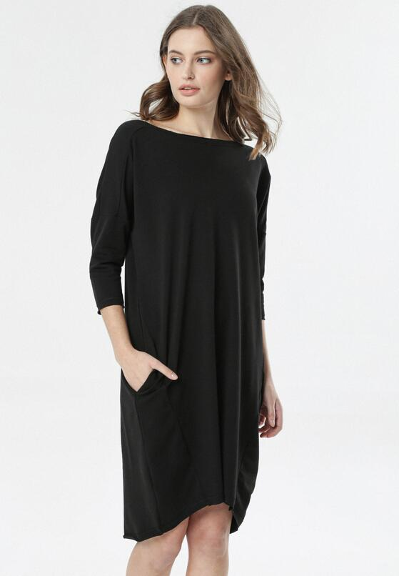 Czarna Sukienka Iaomine