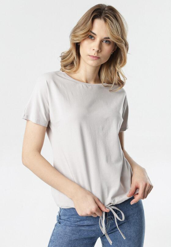 Szary T-shirt Malinore