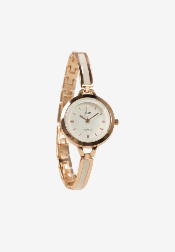 Złoto-Biały Zegarek Leucomei