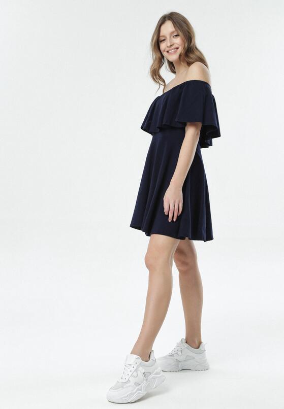 Granatowa Sukienka Neatheis