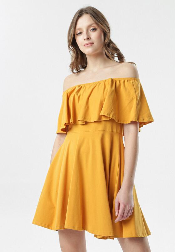 Żółta Sukienka Neatheis