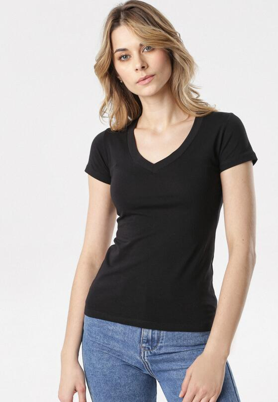 Czarny T-shirt Aegameda