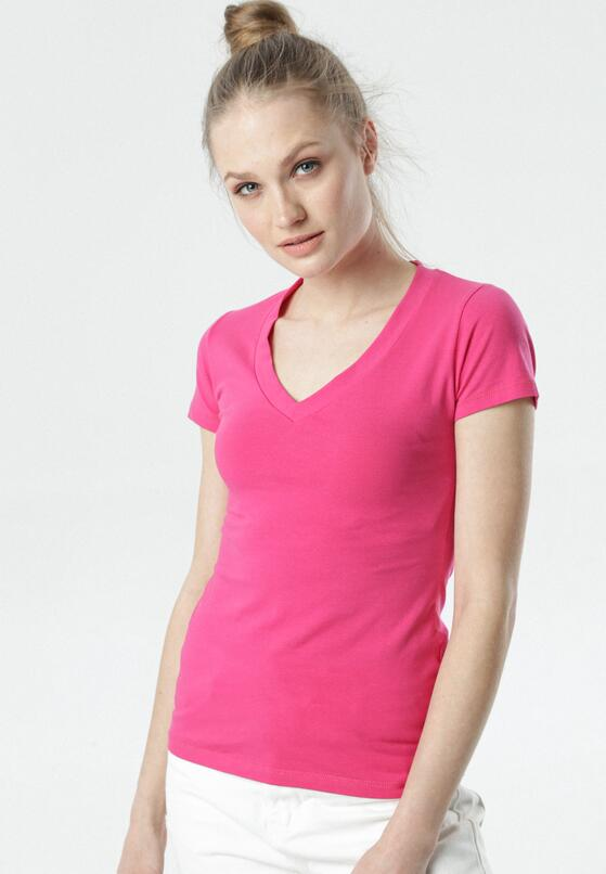 Fuksjowy T-shirt Aegameda