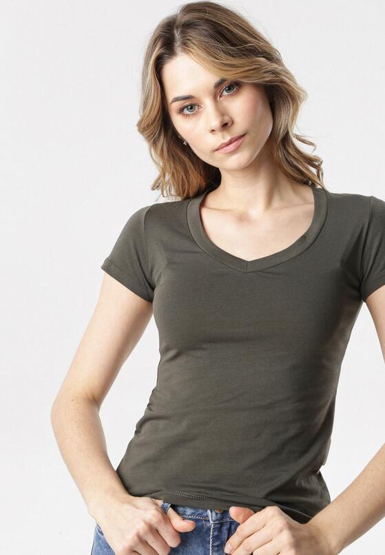 Khaki T-shirt Aegameda