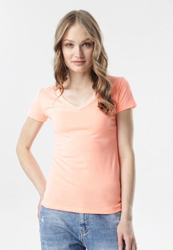 Pomarańczowy T-shirt Aegameda