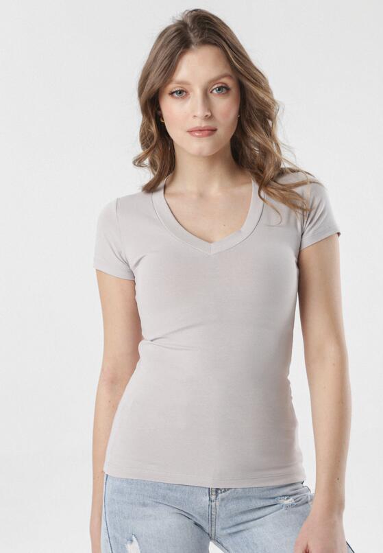 Szary T-shirt Aegameda