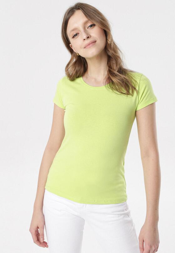 Limonkowy T-shirt Echolaira