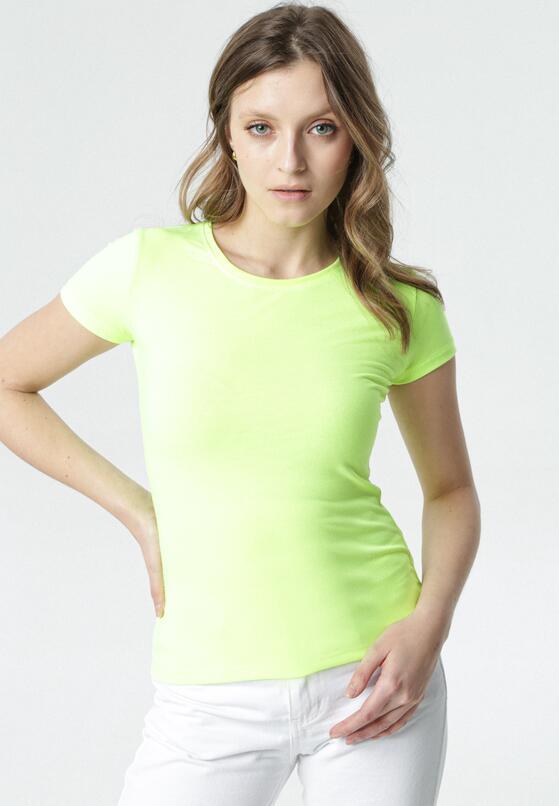 Jasnożółty T-shirt Echolaira