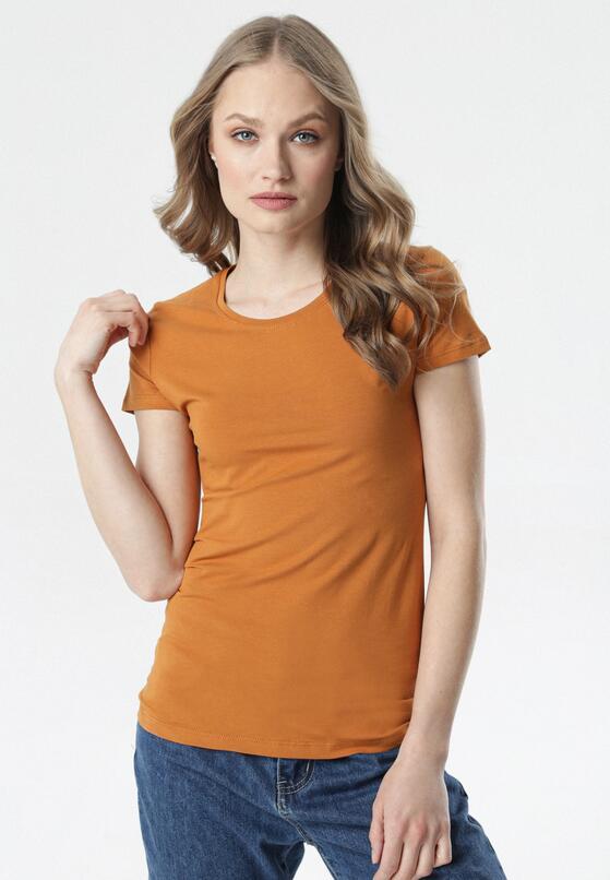 Brązowy T-shirt Echolaira