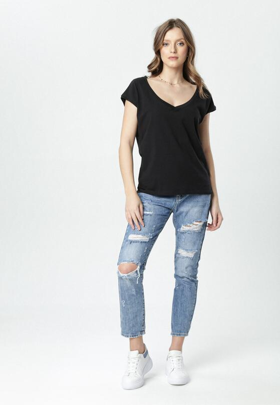 Czarny T-shirt Luaphis