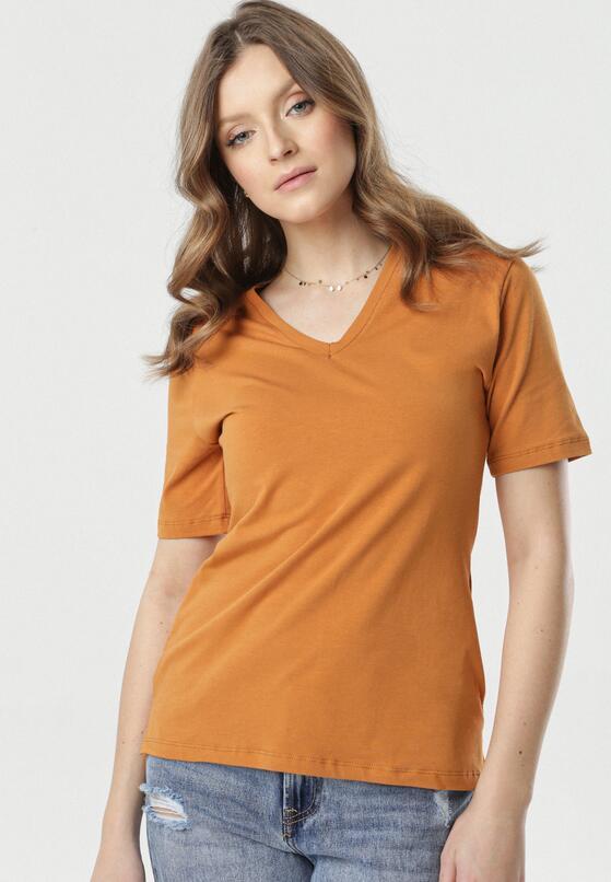 Jasnobrązowy T-shirt Sada