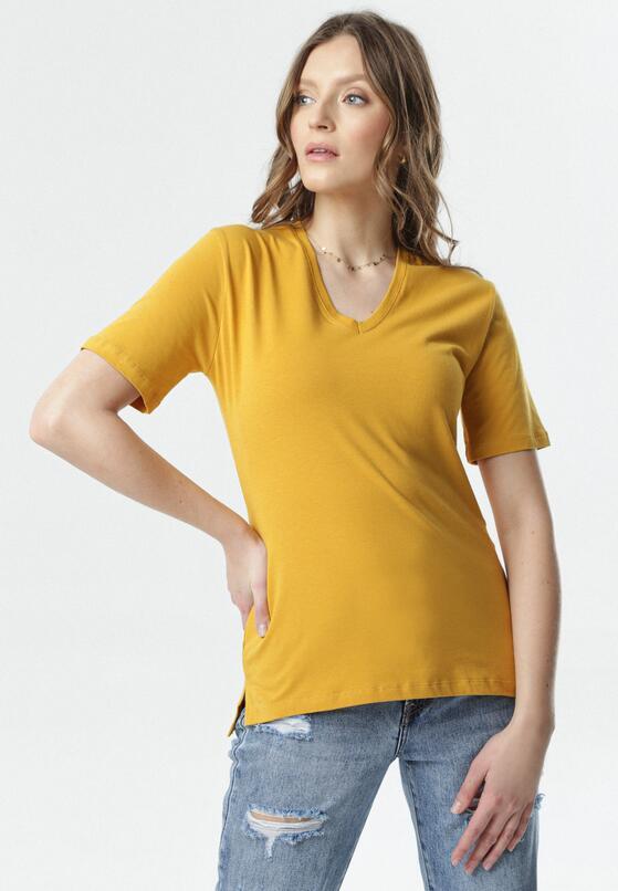 Camelowy T-shirt Sada