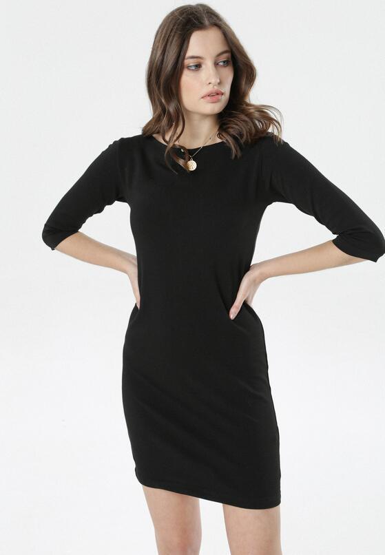 Czarna Sukienka Eleynard