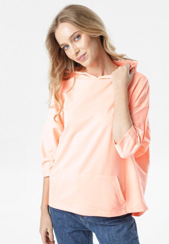 Pomarańczowa Bluza Joann