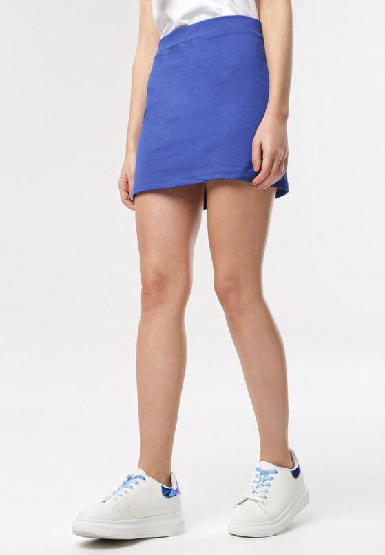 Ciemnoniebieska Spódnica Ilene
