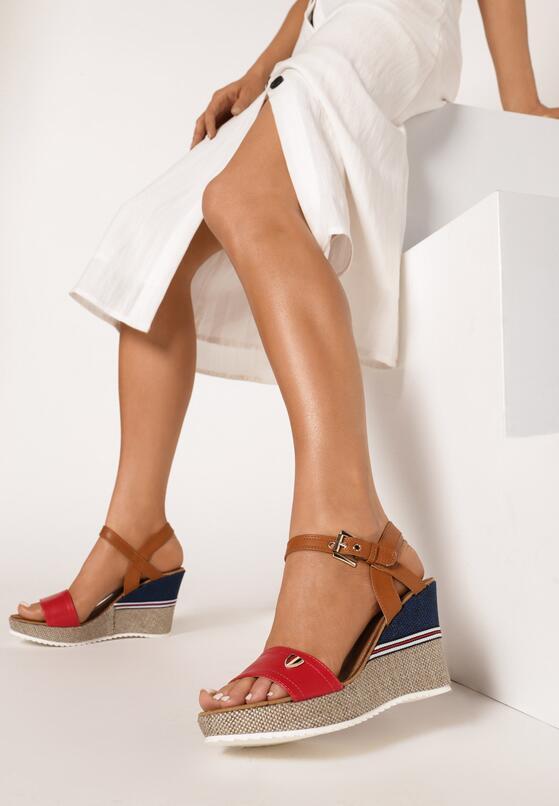 Czerwone Sandały Viviemala