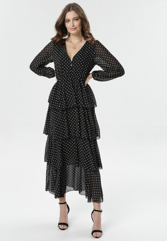 Czarna Sukienka Metimisia