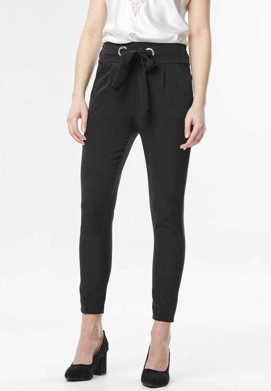 Czarne Spodnie Avaviane