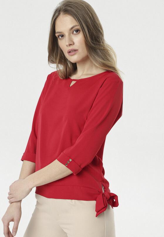 Czerwona Bluzka Thesia