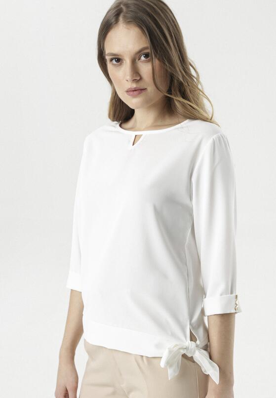 Biała Bluzka Thesia