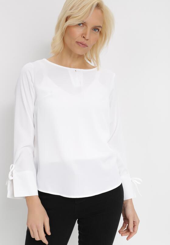 Biała Bluzka Meregana