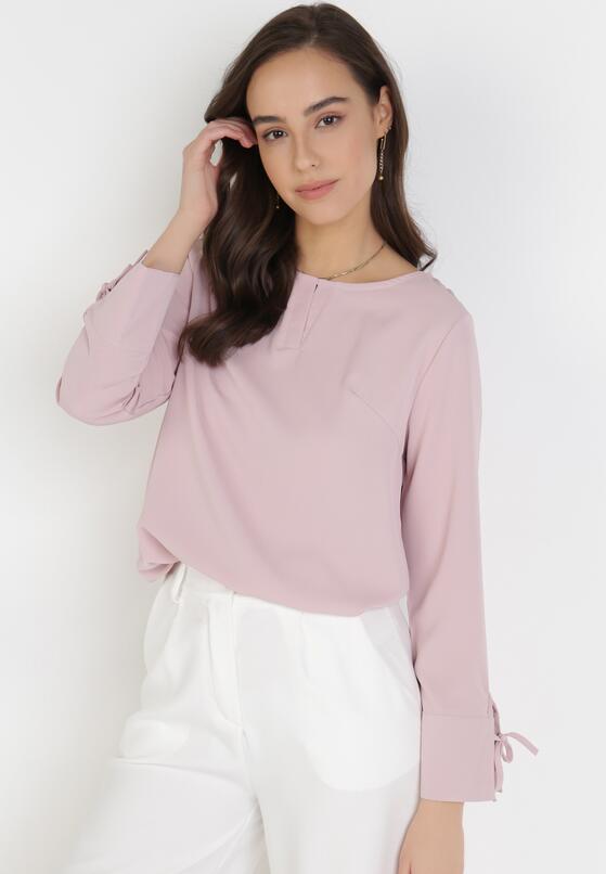 Różowa Bluzka Meregana