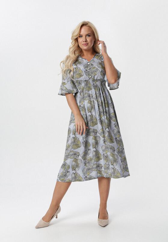 Jasnoniebieska Sukienka Kleoriko