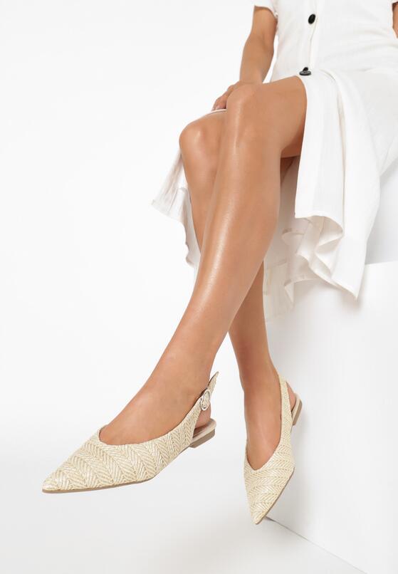 Beżowe Sandały Corradina